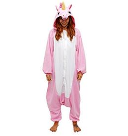 eenhoorn roze onesie voorkant