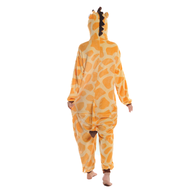 giraffe onesie achterkant