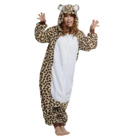 Luipaard onesie voorkant