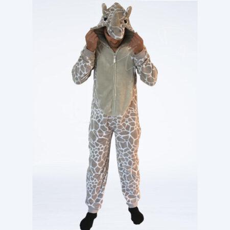 Rhino onesie neushoorn front_nu